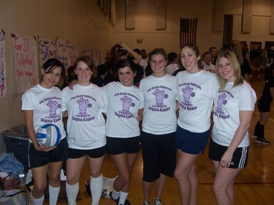 Sigma Kappa Volleyball T-Shirt Photo
