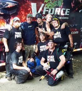 Team World Police T-Shirt Photo