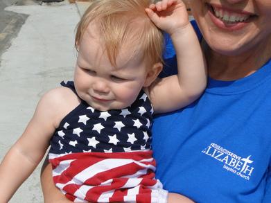 July 4th 2010 Marietta Ga. T-Shirt Photo