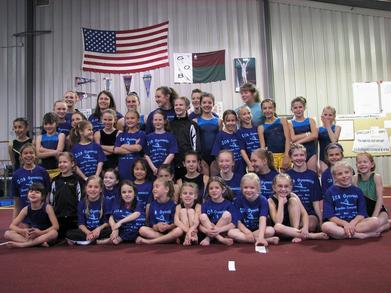 Gob Scrambler Gymnastics Competition T-Shirt Photo