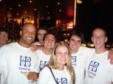The Team Visits Vegas T-Shirt Photo