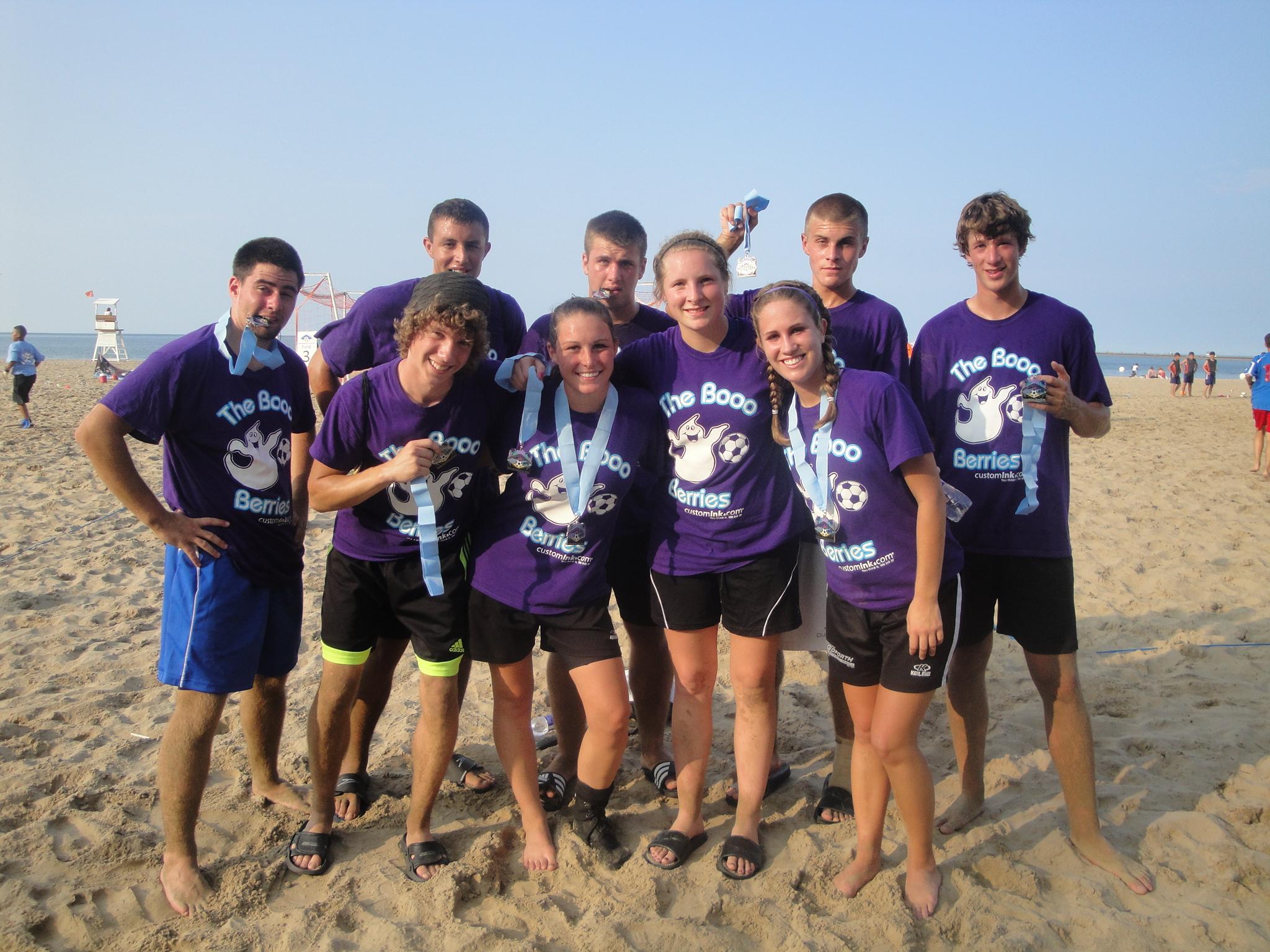 Design t shirt soccer - Booo Berries Beach Soccer T Shirt Photo