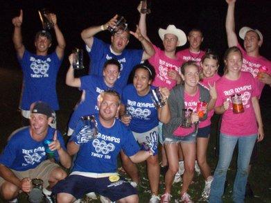 Beer Olympics T-Shirt Photo