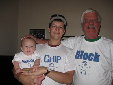 Chip Off The Old Block T-Shirt Photo