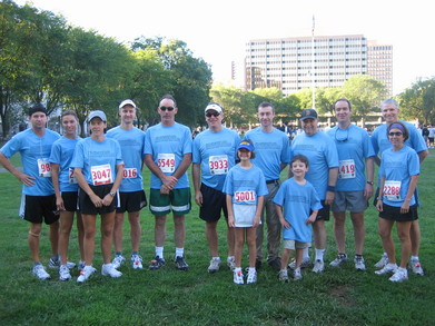 Team Momentum At Annual New Haven Labor Day Road Race T-Shirt Photo
