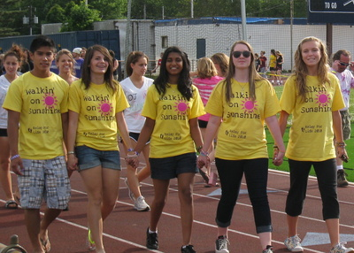 Team Walkin' On Sunshine! T-Shirt Photo