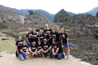 Mhs Ib Spanish At Machu Picchu! T-Shirt Photo