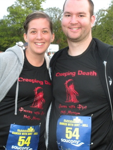 Emily And Bart Ready To Race! T-Shirt Photo