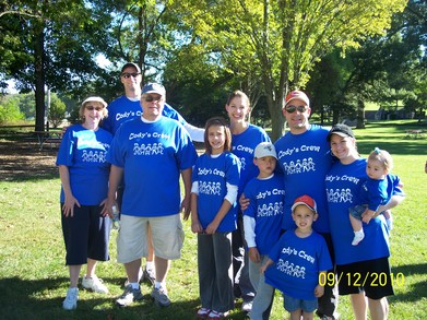 Cody's Crew  The Family Walk For Day One Network T-Shirt Photo