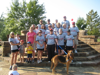 Jdrf Walk For The Cure 2010 T-Shirt Photo