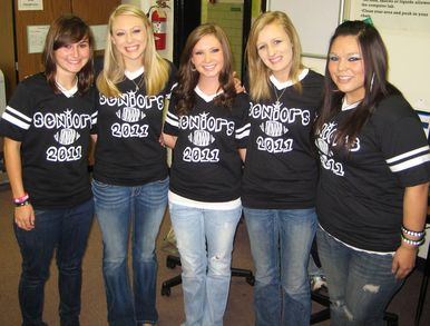 Senior Girls Show Spirit T-Shirt Photo