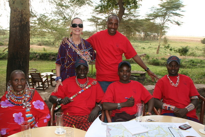 Amboseli Maasai Advisory Board T-Shirt Photo