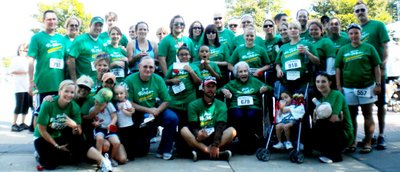 Rolling Deep At Miles For Melanoma 5k T-Shirt Photo