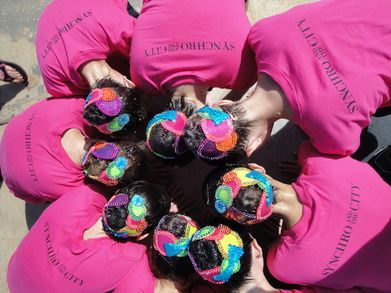 Synchronized Swim Team T-Shirt Photo
