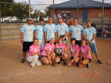 2010 Fall Softball (Division C) Champions T-Shirt Photo
