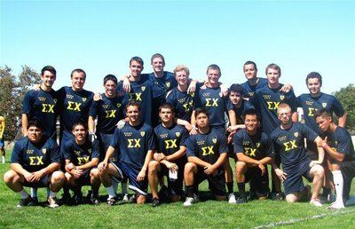 Sigma Chi Football Team, Loyola Marymount T-Shirt Photo