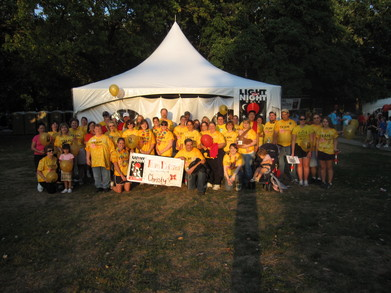 Light The Night   Team Daisies 09/25/2010 T-Shirt Photo