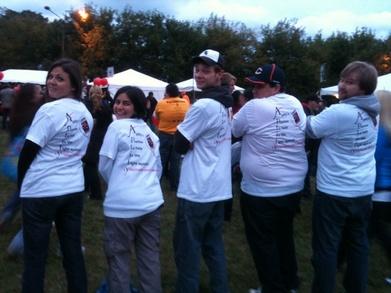Team Aptify At Light The Night T-Shirt Photo