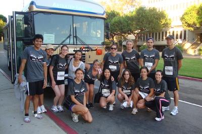 Grad Students Raising Breast Cancer Awareness! T-Shirt Photo