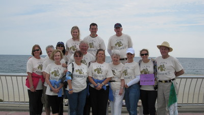 Team Assorted Nuts Appear @ Jersey Shore (Sans Snooki) T-Shirt Photo