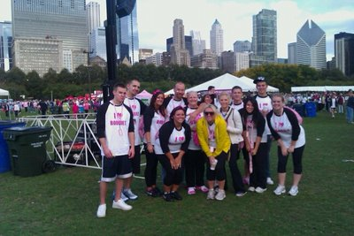 Team Theresa's Tatas! T-Shirt Photo