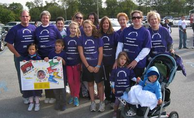 Olivia's Team New York, Ready For Jdrf Walk T-Shirt Photo
