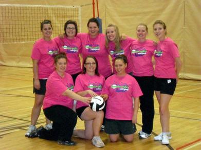 Bumpin' Uglies Volleyball T-Shirt Photo