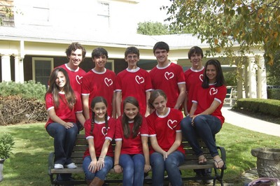 For The Heart With Their New Shirts! T-Shirt Photo
