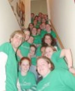 New Sl Exec Board Leaders:  22 People On Stairs! T-Shirt Photo