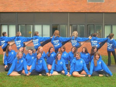 Calhoun Colts Varsity Kickline 2010 T-Shirt Photo