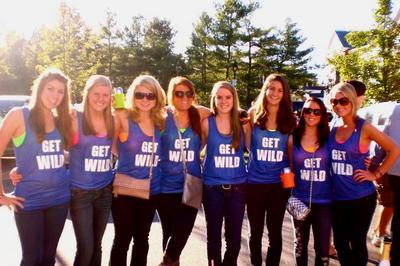 Unh Homecoming 2010   Get Wild T-Shirt Photo