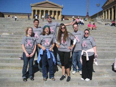 Making Strides 2010 T-Shirt Photo