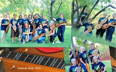Dulcimer Diva Retreat 2010 T-Shirt Photo