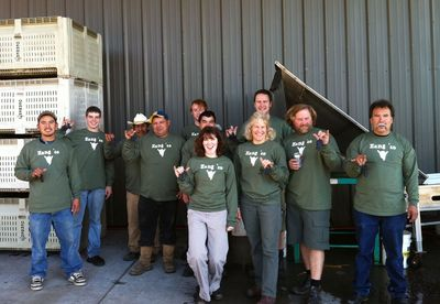 Elk Cove Harvest Crew 2010 T-Shirt Photo
