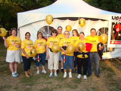 Light The Night Providence, R.I. 2010 T-Shirt Photo