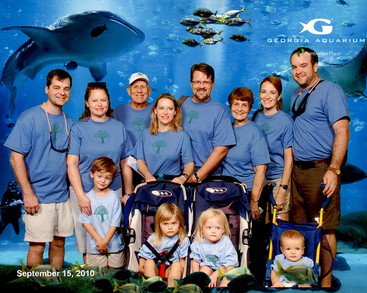 Family Reunion...At The Bottom Of The Sea. T-Shirt Photo