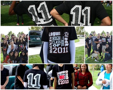 Laguna Creek High Seniors T-Shirt Photo