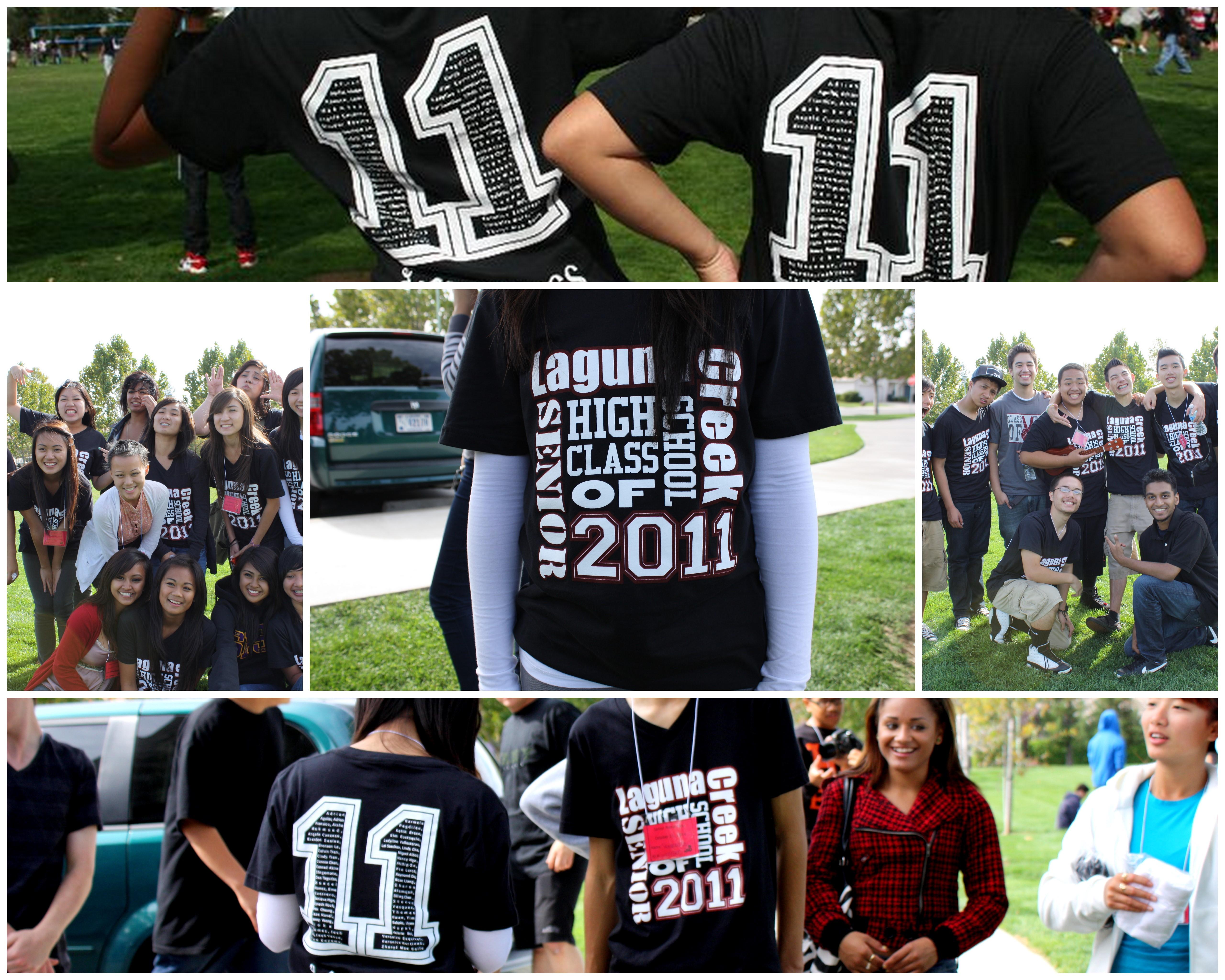 Design your own t-shirt greek - Laguna Creek High Seniors T Shirt Photo