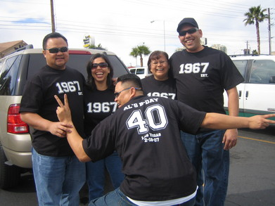 Al's 40th T-Shirt Photo