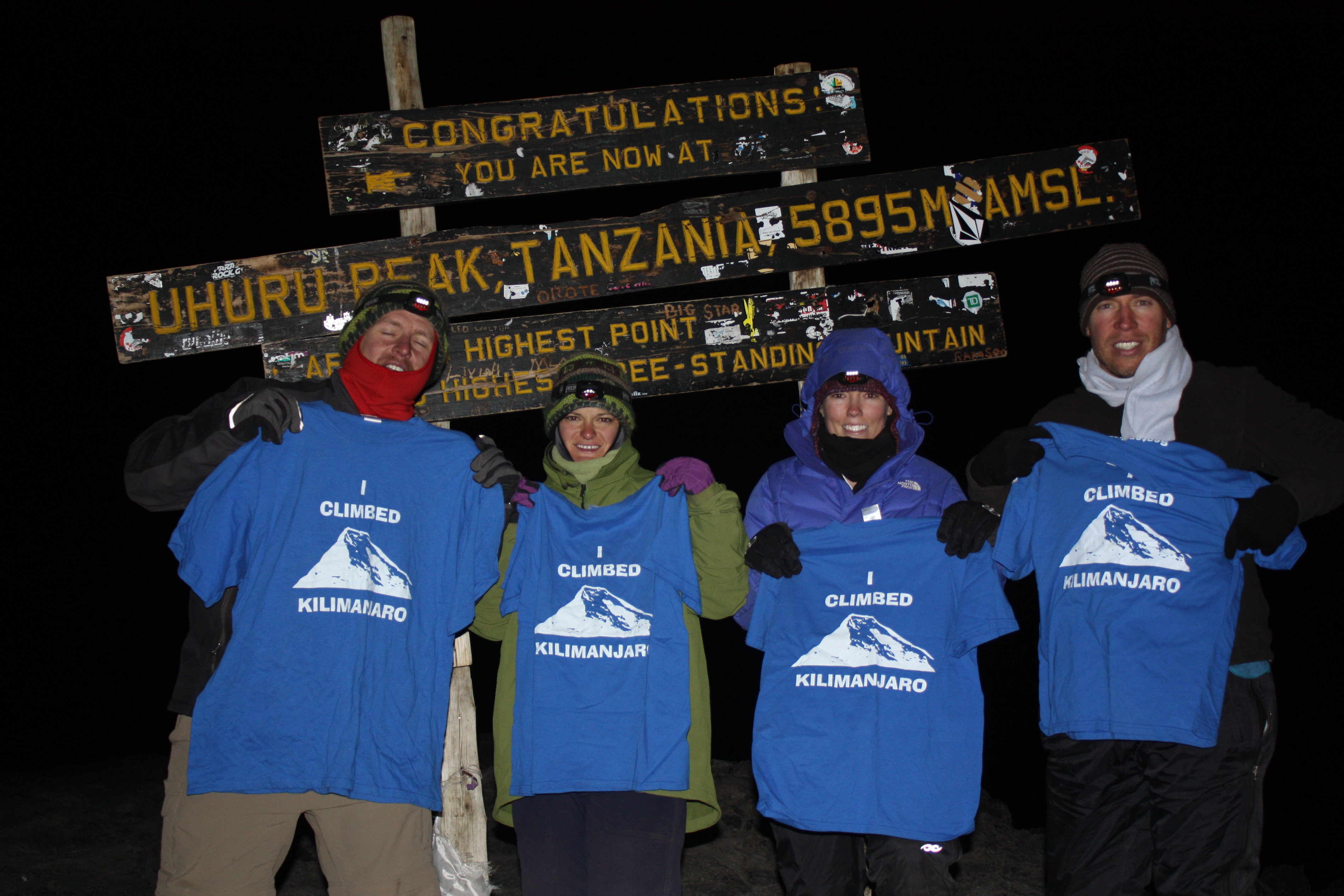 Custom T-Shirts for Mt. Kilimanjaro Summit - Shirt Design Ideas