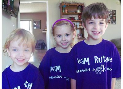 Team Ruthie Grandkids T-Shirt Photo