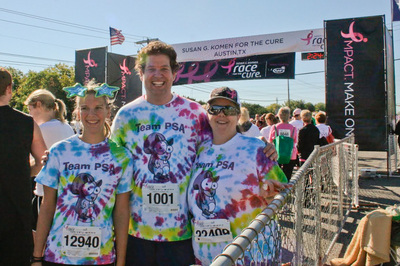 Team Psa At Race For The Cure T-Shirt Photo