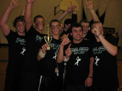 Twin Valley High School Dodgeball Champions! T-Shirt Photo