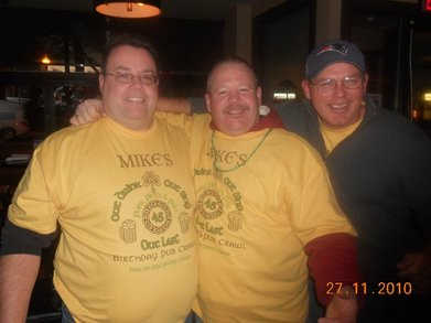 "Mike Mahoney ""Southie"" Pub Crawl T-Shirt Photo"