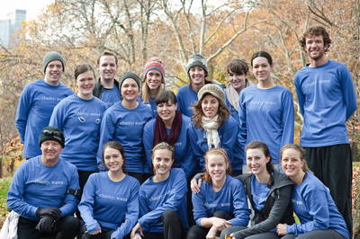 Charity: Water Run In Central Park T-Shirt Photo
