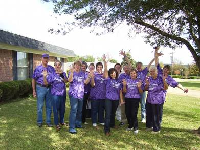 2010 San Augustine County Alzheimer's Memory Walk T-Shirt Photo