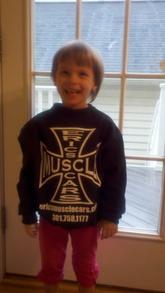 Loves Erics Muscle Cars !!! T-Shirt Photo