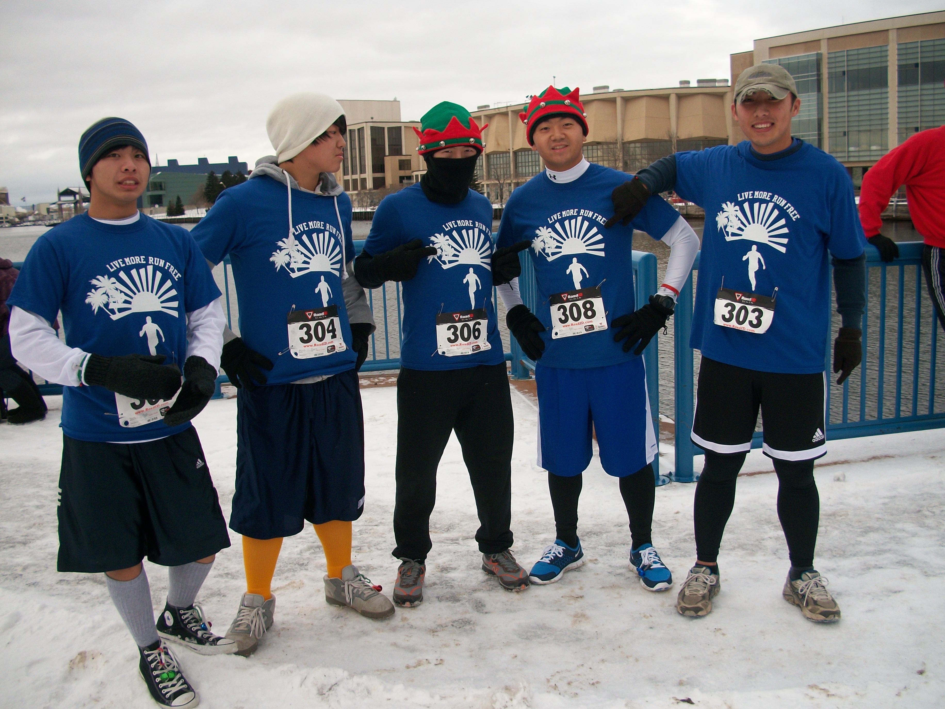 Jingle Bell Run T-Shirt Design Ideas - Custom Jingle Bell Run ...