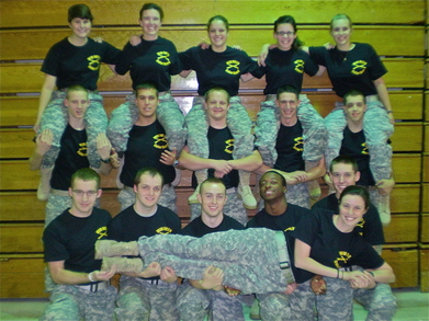 Wiu Army Rotc Color Guard T-Shirt Photo