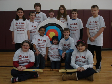 We May Look Calm Here But We Are Archery Maniacs! T-Shirt Photo